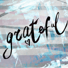Grateful III Stretched Canvas Wall Art
