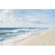 Shore & Waves Stretched Canvas Wall Art