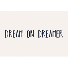 Dream on Dreamer II Stretched Canvas Wall Art