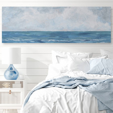 Unending Sea Stretched Canvas Wall Art