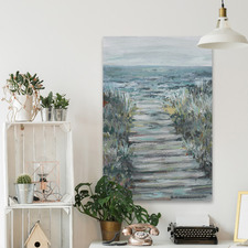 Way to the Sea II Stretched Canvas Wall Art