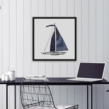 Set Sail III Framed Print