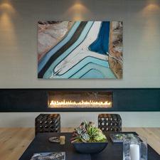 Winding River Canvas Wall Art