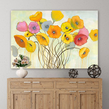 Spring Harmony Wrapped Canvas Painting Print