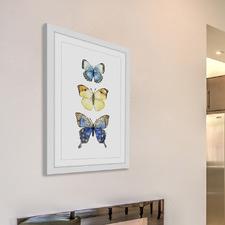 Three Butterflies Wall Art