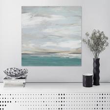 Seafoam Vista Canvas Wall Art