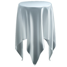 Tall Illusion Side Table