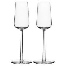 Set of 2 Iittala Essence Champagne Flutes
