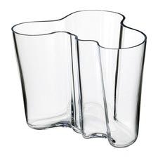 Medium Clear Iittala Alvar Aalto Vase