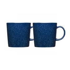 Teema Dotted Blue Mug 35cm (Set of 2)
