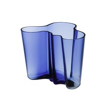 Alvar Aalto Ultramarine Vase