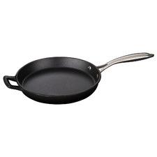 Black La Cuisine Pro Series 26cm Cast Iron Fry Pan