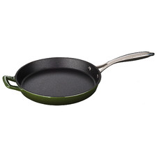 Green La Cuisine Pro Series 26cm Cast Iron Fry Pan
