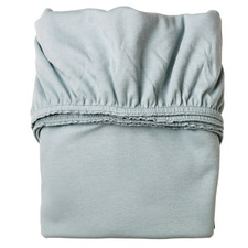 Solid Cotton Jersey Fitted Cot Sheets (Set of 2)