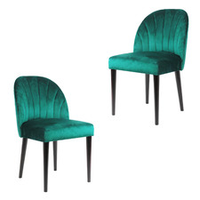 Hampshire Velvet Dining Chairs (Set of 2)