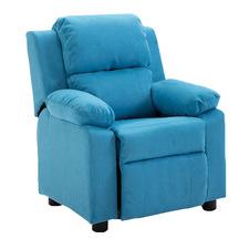 Kid's Upholstered Recliner Chair