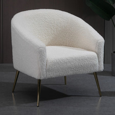 White Shreya Armchair