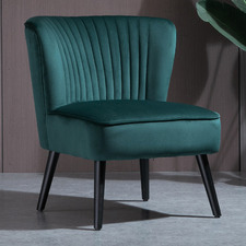 Fearne Velvet Accent Chair