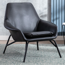 Celena Faux Leather Armchair
