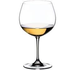 Riedel Vinum Crystal Oaked Chardonnay Glasses (Set of 2)
