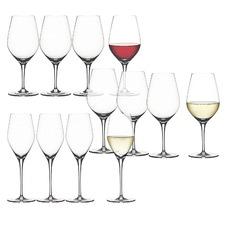12 Piece Spiegelau Authentis Crystal Glasses Set