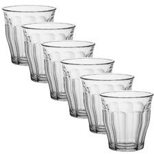 Duralex Picardie 250ml Glass Tumblers (Set of 6)