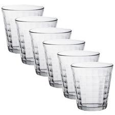 Duralex Prisme 270ml Glass Tumblers (Set of 6)