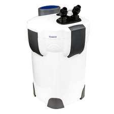 White Aquarium UV Light External Canister Filter with Accessories