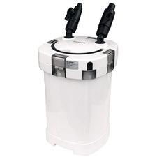 White Double Tube Aquarium External Canister Filter