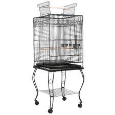 145cm Black Alto Metal Bird Cage