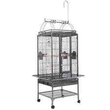 203cm Charcoal Ava Metal Bird Cage
