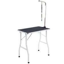 146cm Black Pet Grooming Table