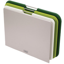 3 Piece Green Nesting Chopping Board Set