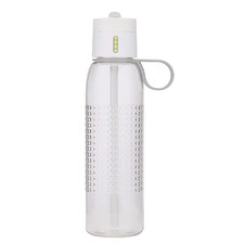 White 750ml Dot Active Water Bottle
