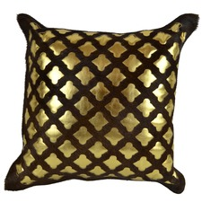Golden Foil Cushion Cover