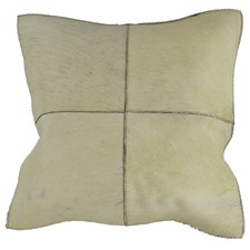 White Fur Cushion Cover