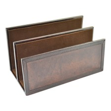 Genuine Leather Letter Holder