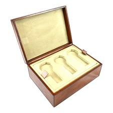 Genuine Leather 6 Watch Holder Box