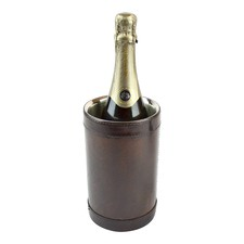 Genuine Leather Wine Chiller