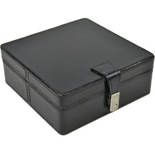 Leather Square Jewellery Box