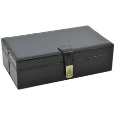Etsy Rectangular Leather Accessories Box