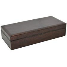Constantin Leather Pen & Watch Box