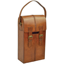 Penfolds Leather Double Wine Carrier
