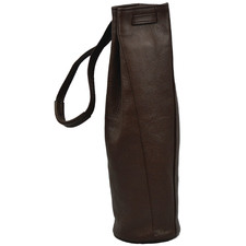 Cheval Leather Single Wine Carrier