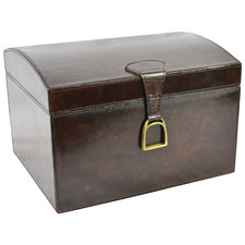 Tapper Leather Box with Stirrup