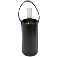 Baringo Leather Single Wine Bottle Holder