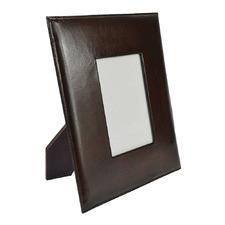 "4 x 6"" Buffalo Leather Photo Frame"