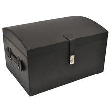 Ovaltop Buffalo Leather Storage Box