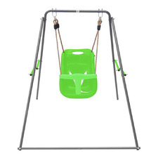 Bobcat Foldable Baby Metal Swing Set