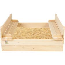 Kids' Strongbox Square Sandpit